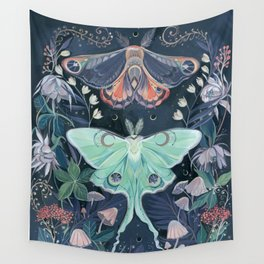 Luna Moth Wall Tapestry