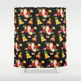 HAWAIIAN SUSAN SARANDON  Shower Curtain