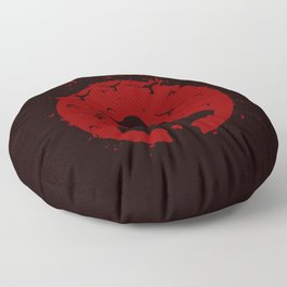 Ninja Silhouette Floor Pillow
