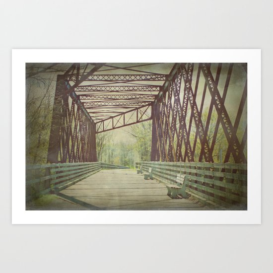 Come and Take a Walk with Me Art Print