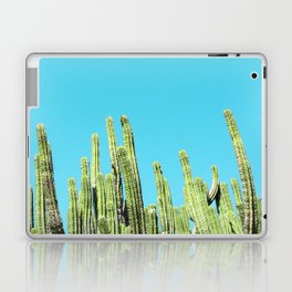 Desert Cactus Reaching for the Blue Sky Laptop & iPad Skin