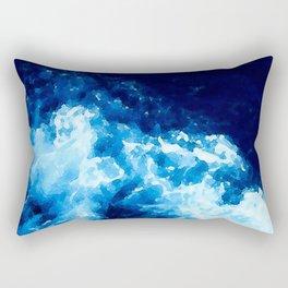 The Deep Blue Sea Rectangular Pillow