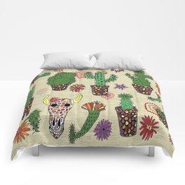 mosaic cactus plant pots Comforters