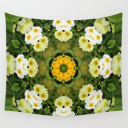 Happy Dogs in the garden... Wall Tapestry