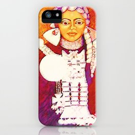 Daughter of the bright sun iPhone Case