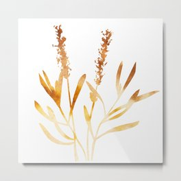 Lavender ( watercolor fill poster) Metal Print