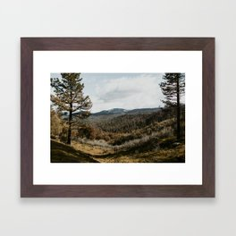 Yosemite Dusk Framed Art Print