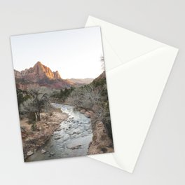 Canyon Junction, Zion National Park, Utah Stationery Cards
