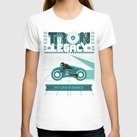tron T-shirts featuring Tron Legacy by HomePosters