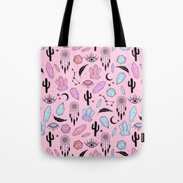 Desert Crystals Theme Tote Bag