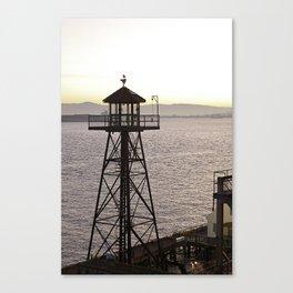 Alcatraz Look Out  Canvas Print