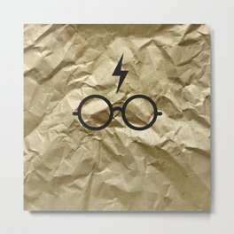 Harry Paper Metal Print