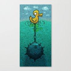 DuckBomb Canvas Print