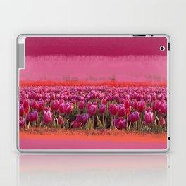 field of tulips Laptop & iPad Skin