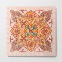Brown Mandala 02 by serigraphonart