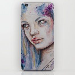 Blue Mermaid  iPhone Skin