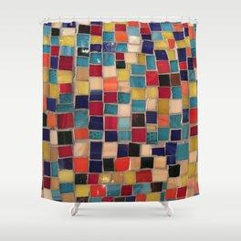 Mosaics. Fashion Textures Shower Curtain