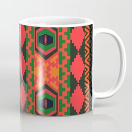 Neon tribal art Coffee Mug