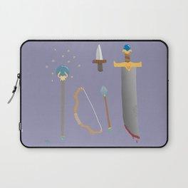 amateur weapons set Laptop Sleeve