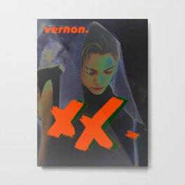 Artwork K-Pop SEVENTEEN Vernon Metal Print