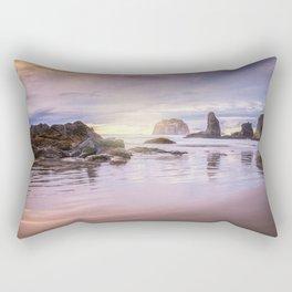 My Therapist the Ocean Face Rock Beach Rectangular Pillow