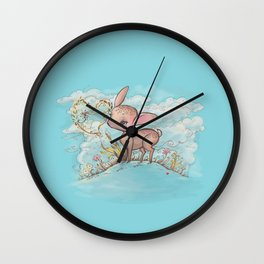 Dear, I'm fawned of you. Wall Clock