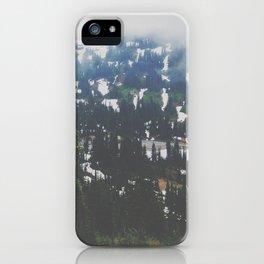 Mount Rainier in July iPhone Case