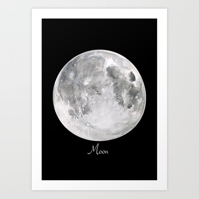Moon #2 Kunstdrucke