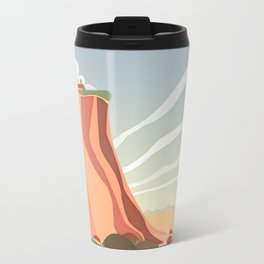 fairy landscape Metal Travel Mug