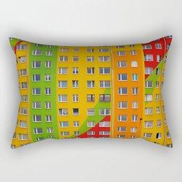 Architecture Geometry Rectangular Pillow