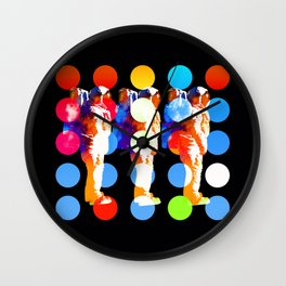Polkanauts Wall Clock