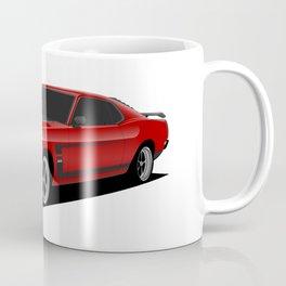 Mustang Boss Red Coffee Mug