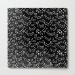Ruth Bader Ginsburg Dissenting Collar II Metal Print