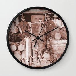 SGT. F.L. Leebrick, WVSP Wall Clock