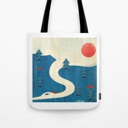 Qu'Appelle River Tote Bag