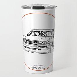 Crazy Car Art 0209 Travel Mug