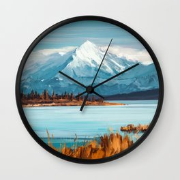 a Quiet Mind Wall Clock