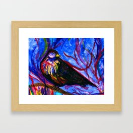 Painted Reality Framed Art Print
