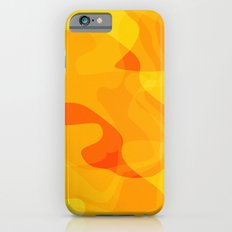Orange Abstract Shapes Slim Case iPhone 6s