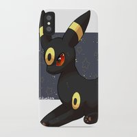 umbreon iPhone & iPod Cases featuring Umbreon by Mirikun