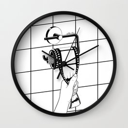 Past is shit Wall Clock