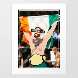 The Notorious - Conor McGregor Art Print