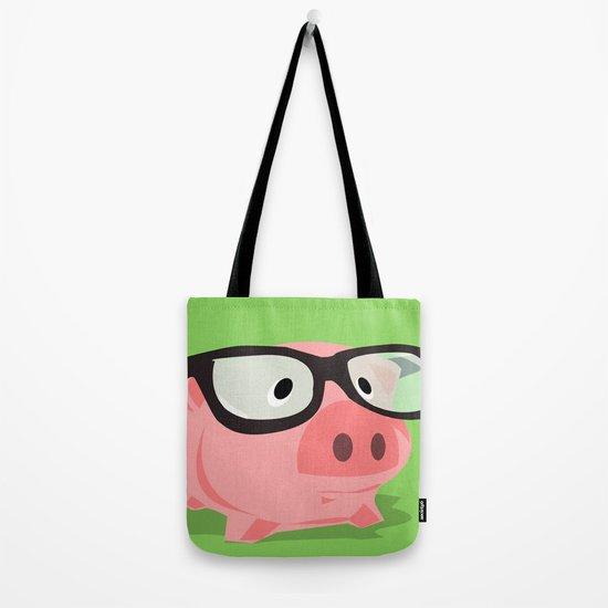 Smart Pig Tote Bag