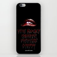 rocky horror iPhone & iPod Skins featuring Rocky Horror Picture Show by Laura Streit
