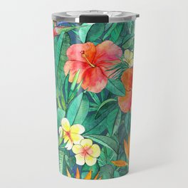 Classic Tropical Garden Travel Mug