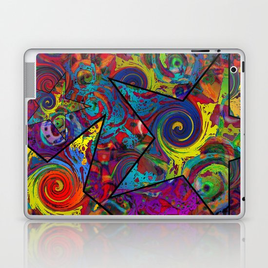 Star Collage Laptop & iPad Skin