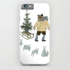 Bear, Christmas Tree and Bunnies Slim Case iPhone 6s