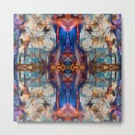 Mandala Kaleidoscope 523 Metal Print