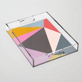 Abstract 09 Acrylic Tray