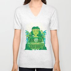 Know who you are Unisex V-Neck